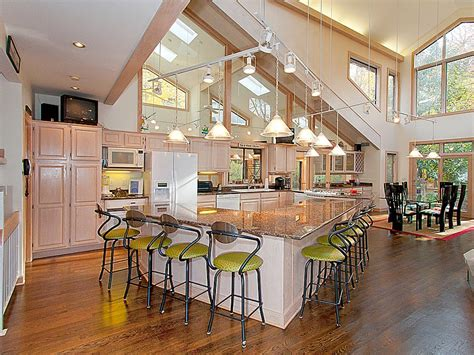 Open Floor Kitchen Plan Decorating Ideas Pictures