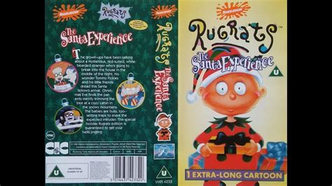 Opening to Rugrats The Santa Experience 1996 VHS YouTube