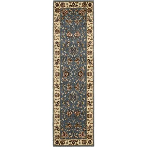 Oriental Runner Blue Area Rugs Rugs The Home Depot