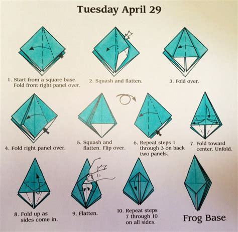 Origami Instructions How to Make an Origami Frog