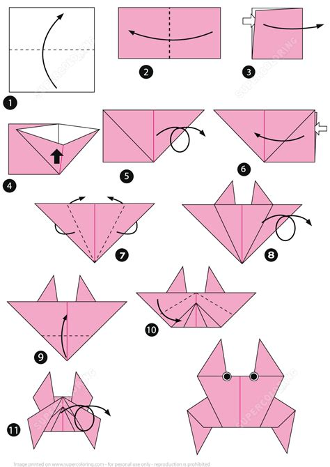 Origami Instructions Instructions on How to Make Origami