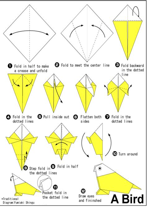 Origami Instructions Origami Fun