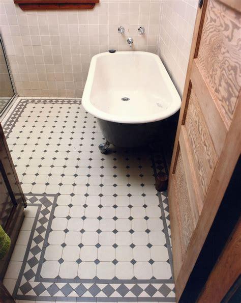 Original Tile and Bathroom Victorian Floor Tiles