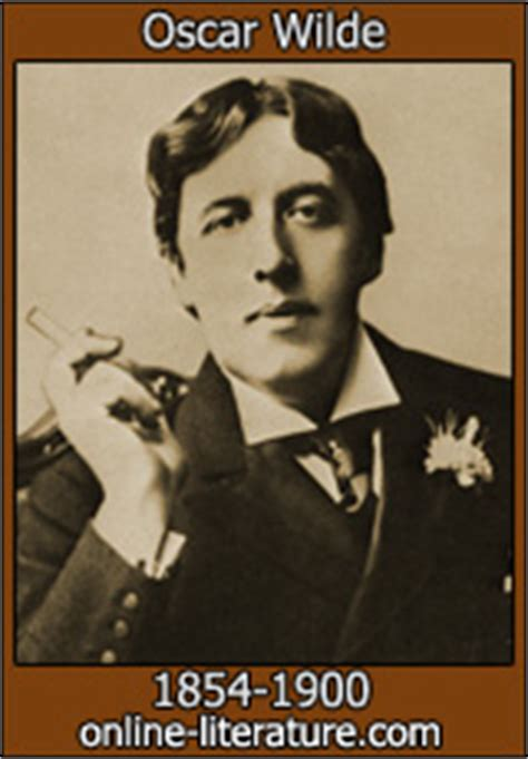 Oscar Wilde Biography and Works Search Texts Read