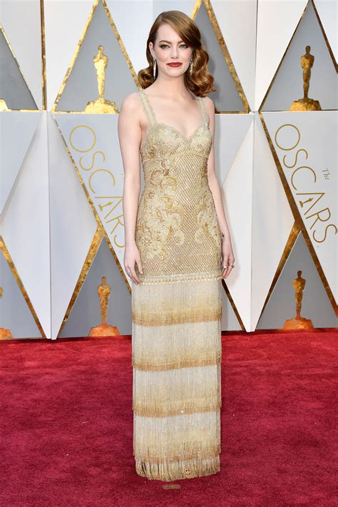 Oscars 2017 Best Dressed List Best Red Carpet Style at