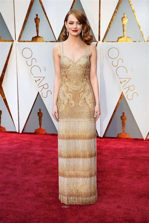 Oscars 2017 Dresses The New York Times