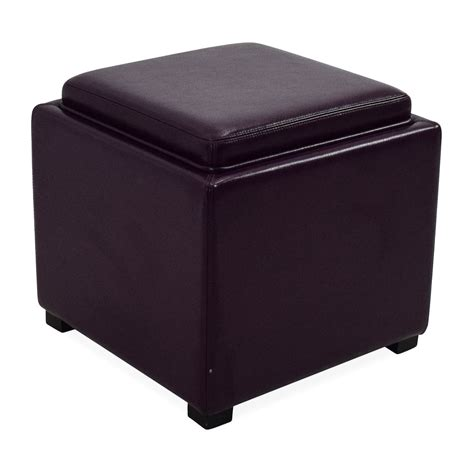 Ottomans and Storage Cubes Crate and Barrel