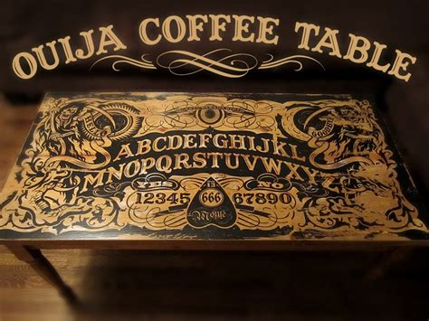 Ouija Coffee Table 11 Steps with Pictures