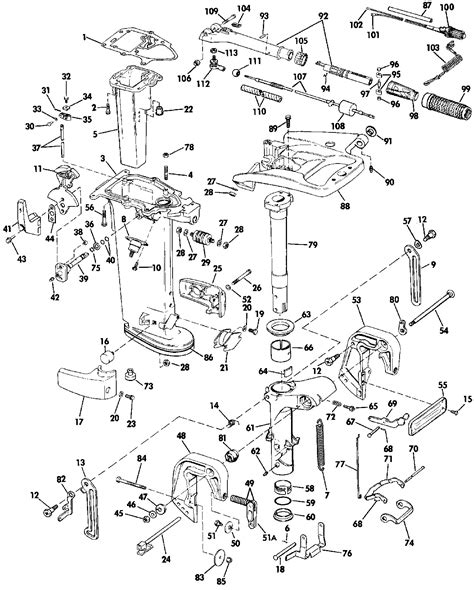 wiring diagram yamaha outboard motor images outboard boat motor parts johnson evinrude mercury