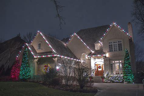 Outdoor Christmas Lights Installation