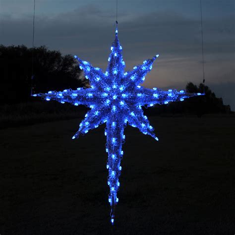 Outdoor Christmas Star Decorations
