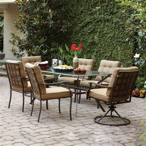 Outdoor Dining Tables Outdoor Dining Furniture Lowe s