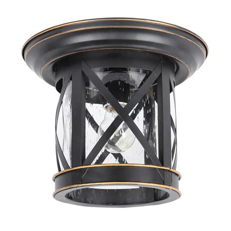 Outdoor Flush Mount Lighting Fixtures for Patio or Porch