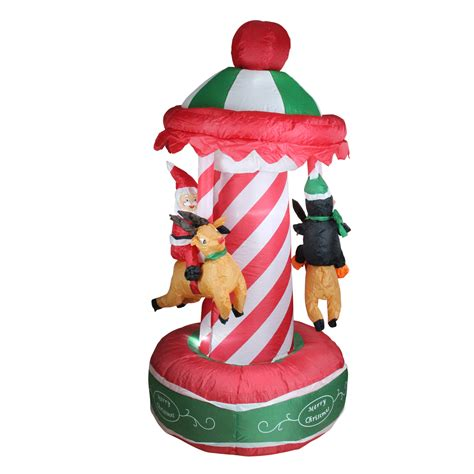 outdoor inflatable christmas decorations clearance