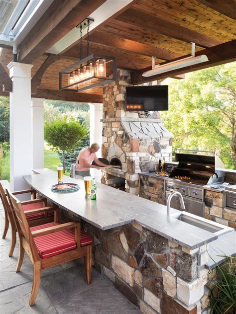 Outdoor Kitchen Ideas Pictures Tips From HGTV HGTV