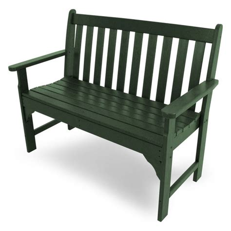Outdoor Polywood Benches Cheap Recycled Plastic Patio Bench