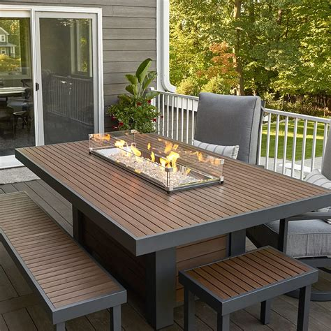 Outdoor Rooms Fire Pit Tables Electric Fireplaces