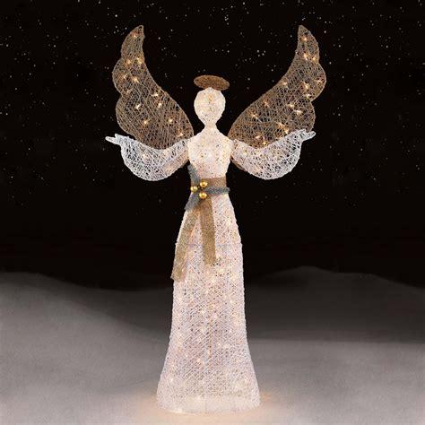 Outside Christmas Angels