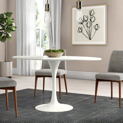 Oval Kitchen Dining Tables You ll Love Wayfair