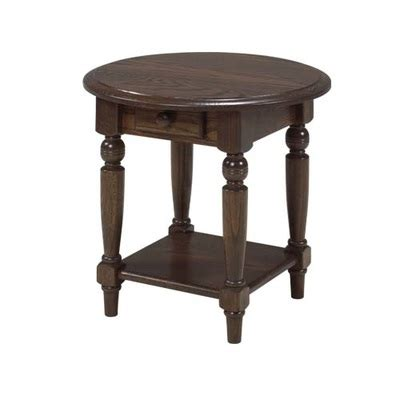 Oval Round DJs Solid Wood Furniture Made in Canada
