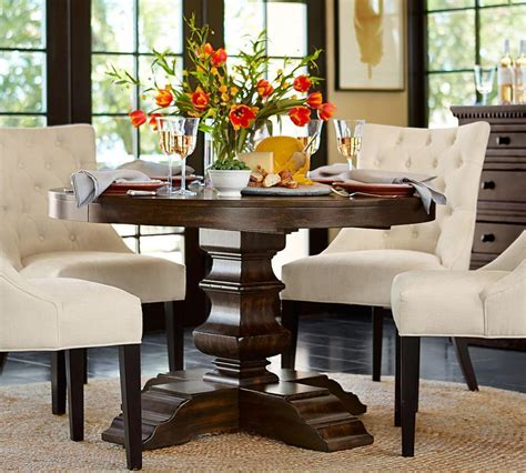 Oval Round Dining Tables Pottery Barn