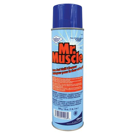 Oven and Grill Cleaner Mr Muscle Indiustrial Strength