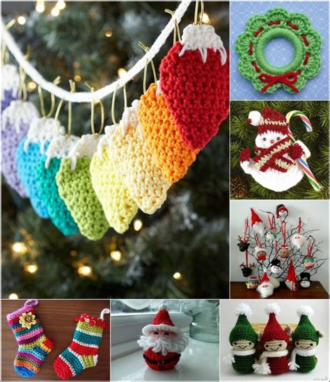Over 100 Free Crochet Christmas Ornaments Patterns at