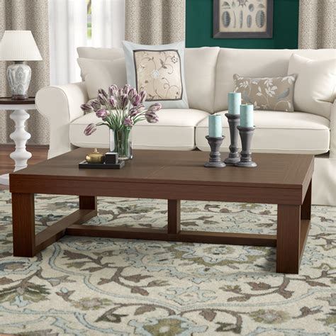 Oversized Coffee Tables You ll Love Wayfair