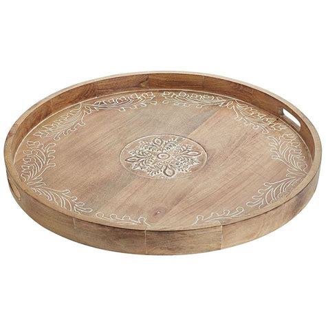 Oversized Wooden Tray Pier 1 Imports