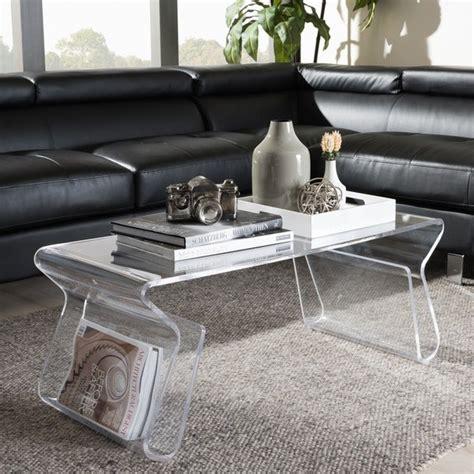 Overstock Adair Acrylic Coffee Table Design Ideas DecorPad