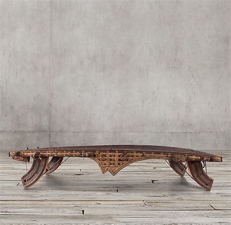 Ox Cart Coffee Table Berber Designs