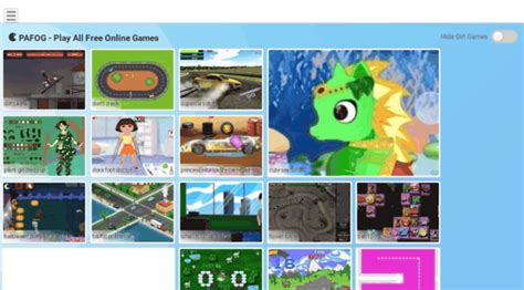 PAFOG Play all free online games without downloading