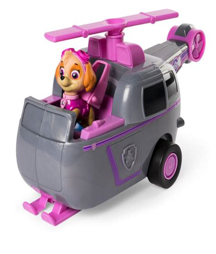 PAW PATROL Nickelodeon Skye Flies in the Air and Saves Paw