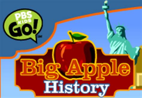 PBS KIDS BIG APPLE HISTORY