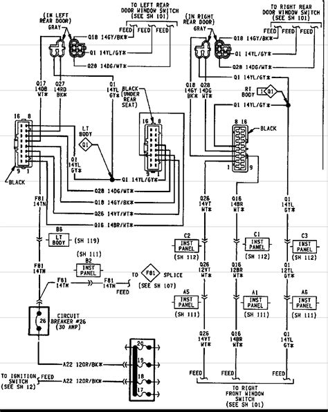 2000 jeep grand cherokee trailer wiring diagram images wiring pdf 2000 jeep grand cherokee door wiring diagram
