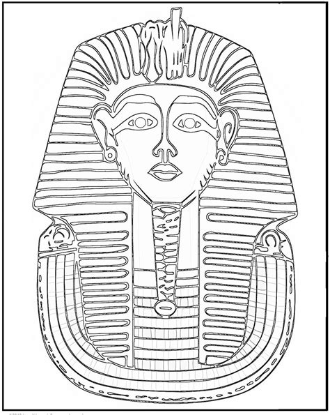 PHARAOH coloring pages Coloring pages Printable