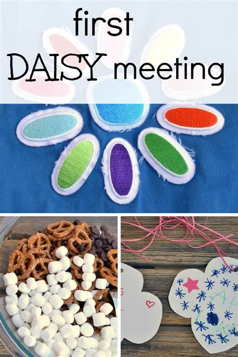 PLAN FOR THE FIRST FOUR DAISY GIRL SCOUT MEETINGS