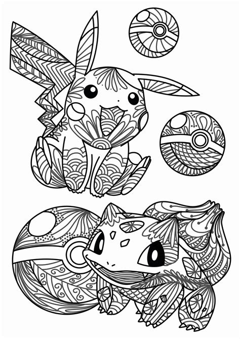 POKEMON coloring pages 232 free online printables for kids