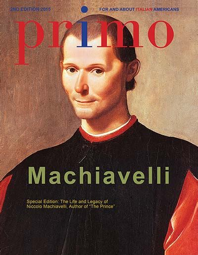PRIMO Magazine For and About Italian Americans