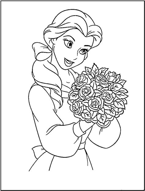 PRINCESS COLORING Pages Free Download Printable