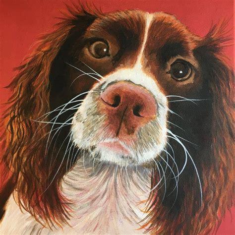 Paint My Dog Modern Contemporary Dog Portraits Pet