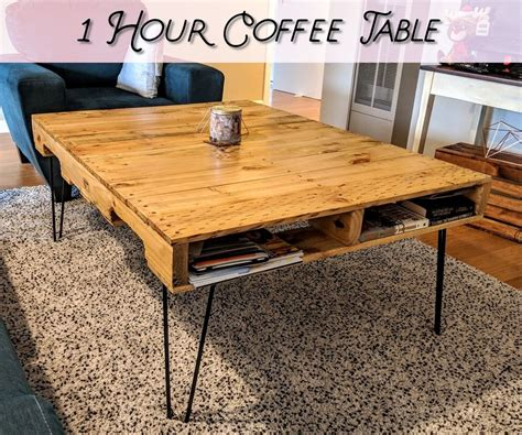 Pallet Coffee Table 6 Steps with Pictures Instructables