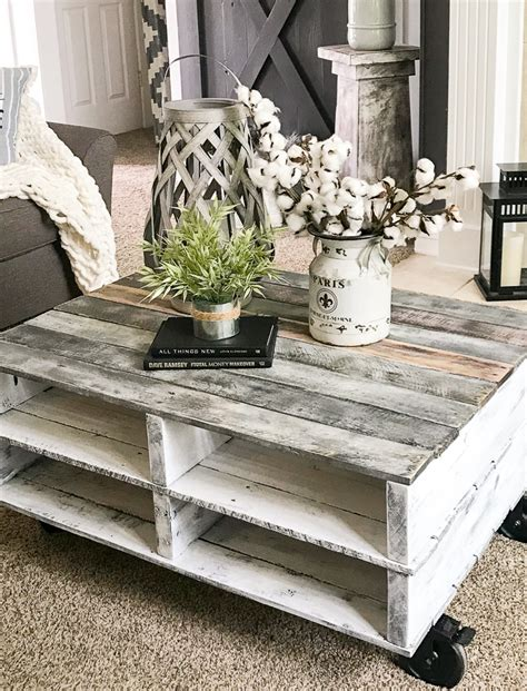 Pallet Coffee Tables Pinterest