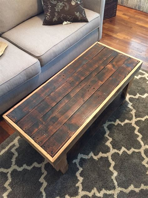 Pallet coffee table Etsy CA