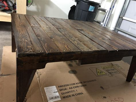 Pallet coffee table Pallet Pinterest Coffee Tables