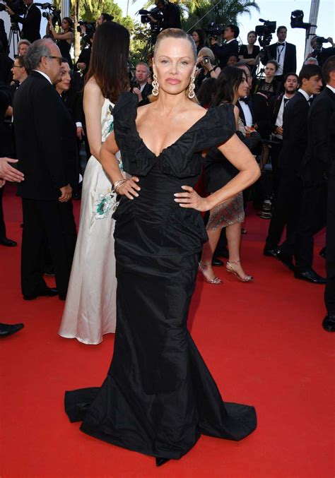 Pamela Anderson unrecognisable on Cannes red carpet