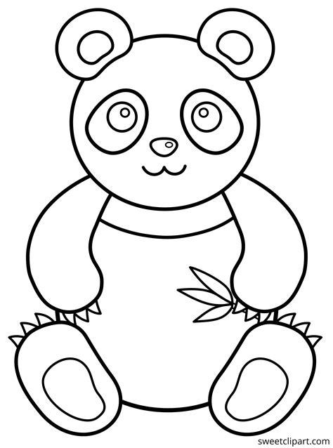 Panda Bear coloring page Free Printable Coloring Pages