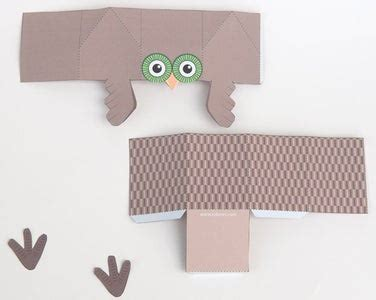 Paper Owl Box 8 Steps with Pictures Instructables
