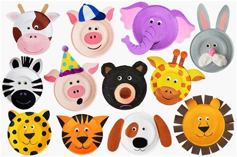 Paper Plate Animals Craft Kids Crafts FirstPalette