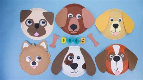 Paper Plate Dog Craft DLTK s Crafts for Kids